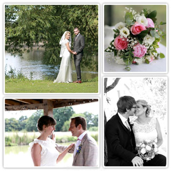 Collage of Kent Wedding photographs