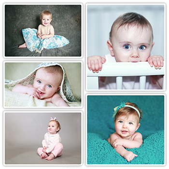 Babies and Toddlers Photography Collage