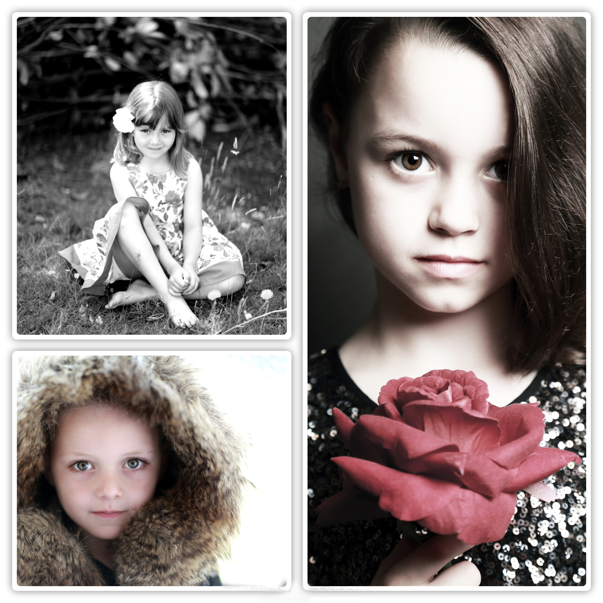 Collage of Children and toddler photography